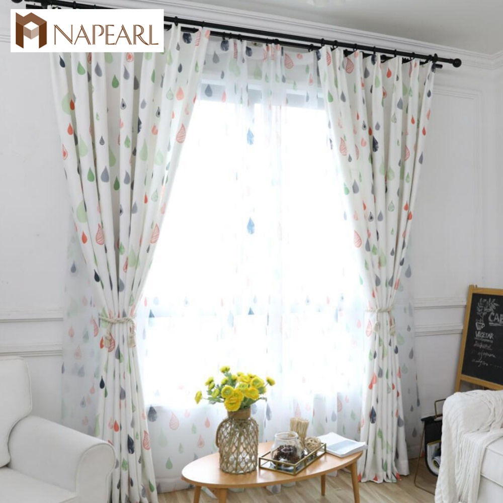 NAPEARL Rideaux Window Customized Blackout Curtains Kids room ...