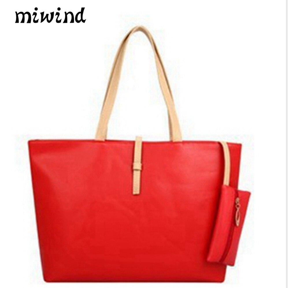 Fashion Bag Women Long Nylon Vintage Shoulder Bags Folding Bag Shopping School  Female Large Tote Top f30dedbc26bf1