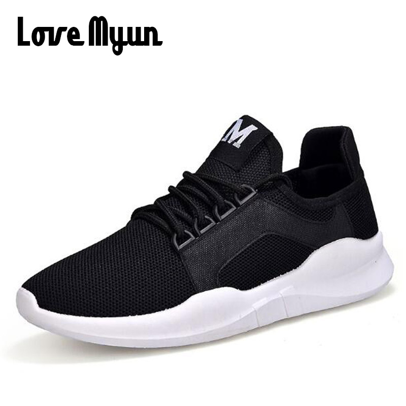 2018 brand flats LOVERS Couple shoes Mens Casual shoes fashion men summer Breathable shoes casual lightweight mesh sneaker WD-43