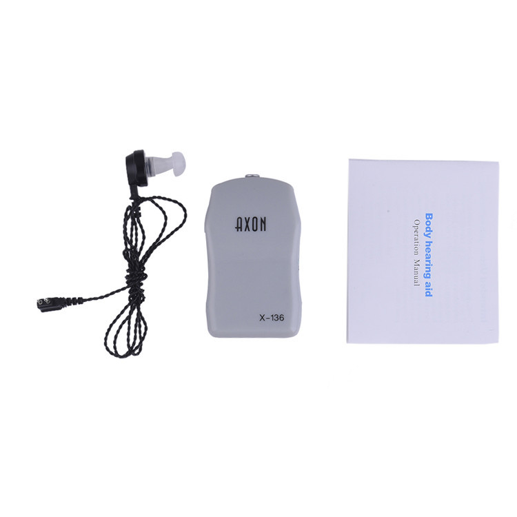 High Power Wired Box Listening Mini Digital Hearing Aid Ear Sound Amplifier Receiver Volume Adjustable Tone Ear Care Tool 8