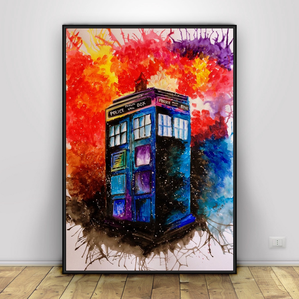 12 X 18 Living Room Ideas: Doctor Who TV Series Art Silk Poster Print 12x18 24x36