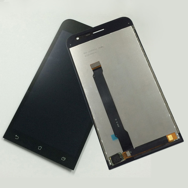 Black For ASUS Zenfone 2 ZE500CL Z00D Touch Screen Digitizer Sensor Glass + LCD Display Panel Monitor Assembly Replacement