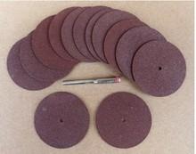 Бесплатная доставка 10 шт./компл. электрические аксессуары смолы режущий диск для резки тонкого металла, пластиковые резки 38*2.0*1.0 ММ