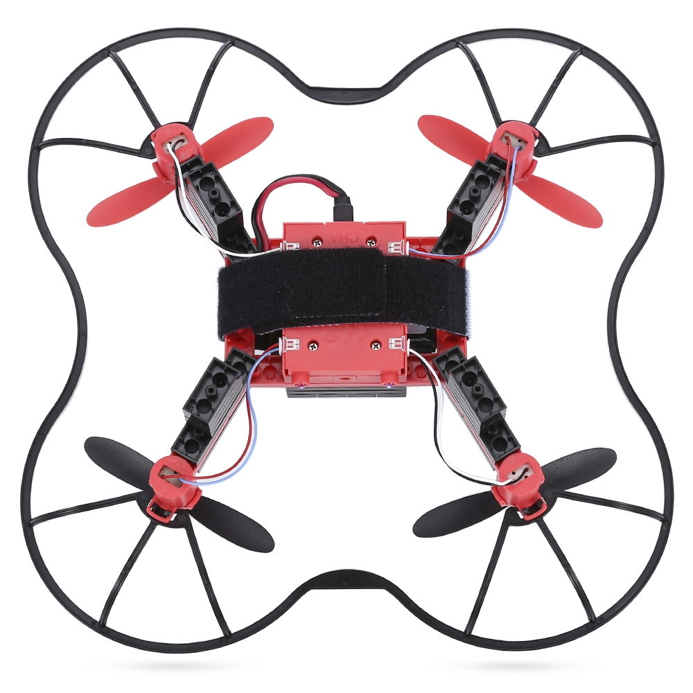Flytec T11S DIY Building Blocks RC Quadcopter WiFi FPV 30W Camera 2.4G 4CH 6-axis Gyro Altitude Hold Headless Mode 3D Unlimited flytec t13 3d 2 4g 4ch 6 axis gyro mini foldable rc drone with wifi fpv 720p wide angle camera high hold mode rc quadcopter