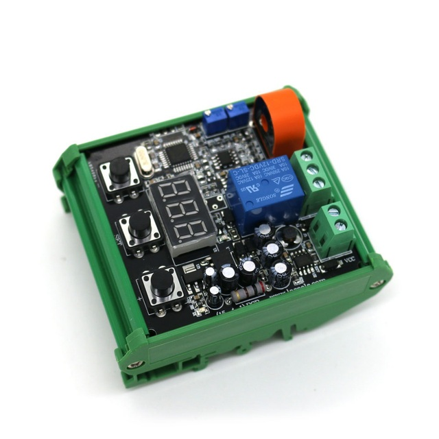 AC detection current sensor module AC 5A/10A upper and lower limit alarm settings