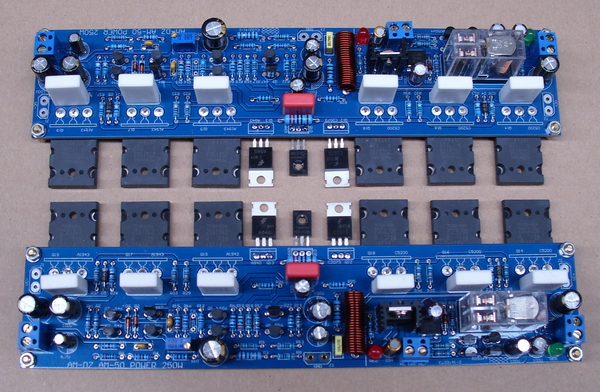 Music fax AM50 Assembled 2.0 Channel Class A 50W+50W Hifi Power Amplifier Board Contain The Transistor amplifier board music fax f1800 high power class a power amplifier board 200w 2 diy hifi amplifiers mono amplifier board 1 sets 2pcs