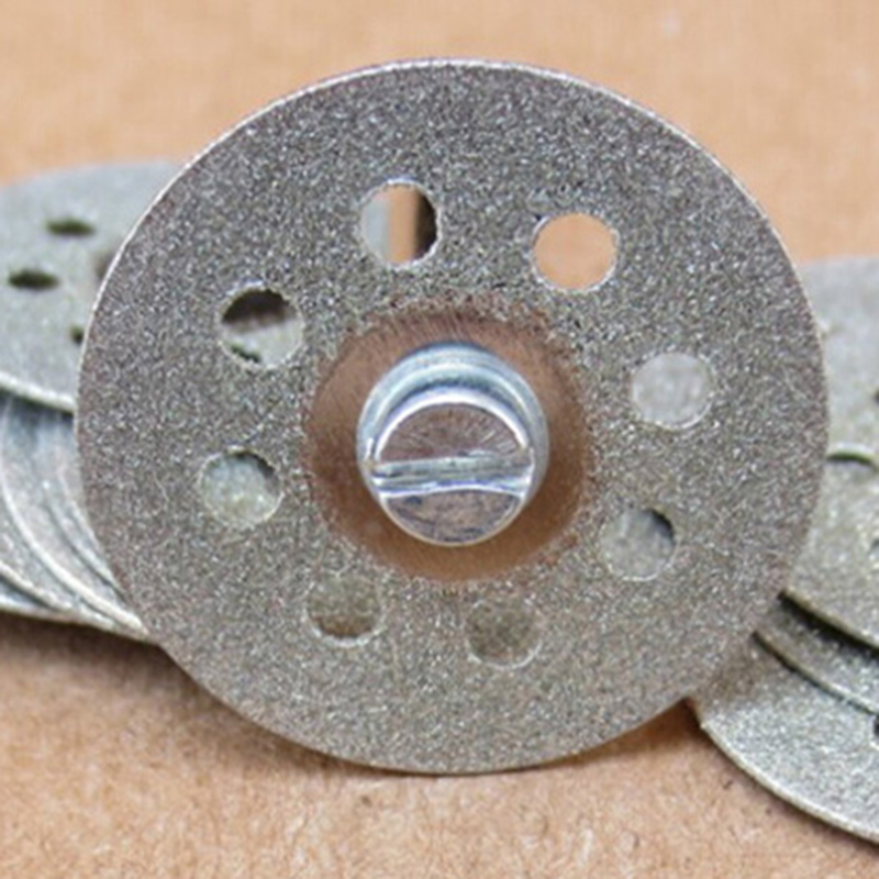 5x 22mm dremel accessories diamond grinding wheel saw mini circular saw cutting disc dremel rotary tool diamond disc for stone