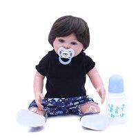 OtardDolls 20Inch 50cm Princess Reborn Doll Toy Handmade Silicone Girl Baby Born Dolls & Stuffed Toys Vinyl Babies Doll Toys