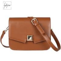 Lydztion Female Bag 2018 Small Messenger Bag Green Lock Clutches Luxury Hand Bags Matt Women Bags