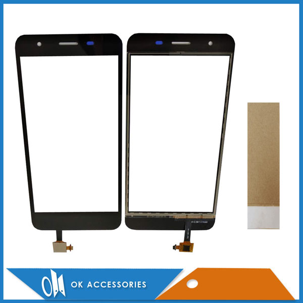 For Micromax Q465 Canvas Juice 4 Touch Glass Touch Screen Sensor Panel Digitizer Black Color With Tape 1PC/LotFor Micromax Q465 Canvas Juice 4 Touch Glass Touch Screen Sensor Panel Digitizer Black Color With Tape 1PC/Lot