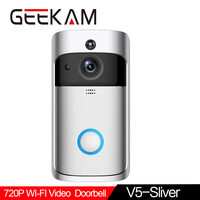 GEEKAM WiFi Video Doorbell V5 Smart IP Video Intercom WI FI Video Door Phone For Apartments IR Alarm Wireless Security Camera