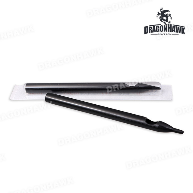 Professional  50 pcs Long Disposable Sterile Tattoo Tubes Nozzle Tips RT DT FT Tattoo Supplies