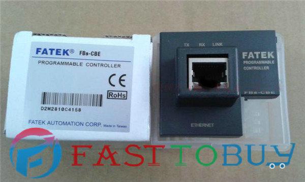 FBs-CBE Fatek PLC 24VDC 1 Ethernet network interface Communication Board New Original lg sh3b саундбар