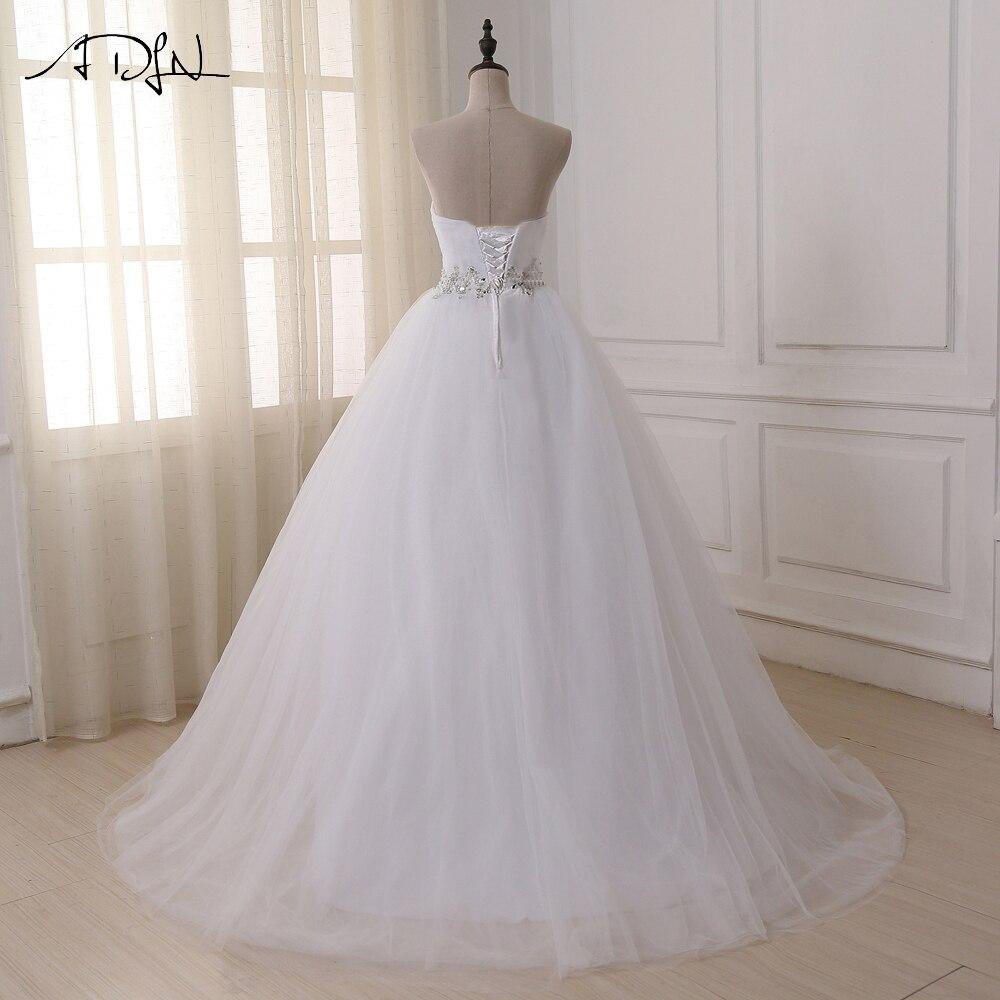 2016 Jaunā dizaina kleita Kāzu svinību kleitas Lace šifons balts - Kāzu kleitas - Foto 2