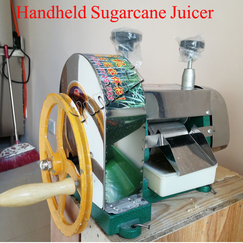 Stainless Steel Handheld Sugarcane Juicer Commercial Sugarcane Juice Extractor Sugarcane Juice Pressing Machine top quality manual sugarcane peelers sugarcane peeling machine sugar cane peeler for sale