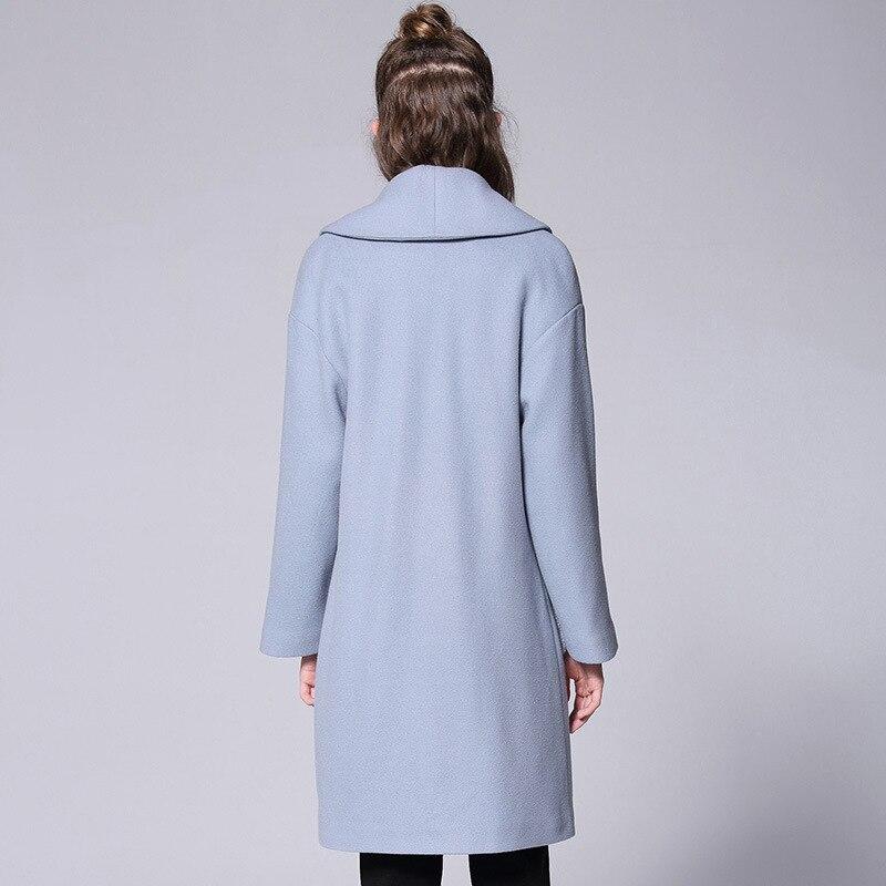 2017 Nouveau Femme Bulle Cape Poche Pour Bouton D'hiver Taille Un Manteaux Manteau Lâche Dames Perles Femmes Grande N0vw8mn