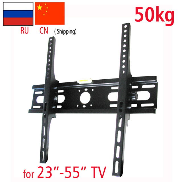 Universal Strong 50kg Steel 400x400 46 42 50 55 15 Tilt Up Down Lcd Tv Wall Mounted Brackets Mount For Led