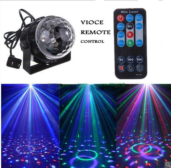 Disco DJ Stage Lighting Digital LED RGB Crystal Magic Ball Effect Light christmas lights wedding decoration