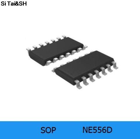 10pcs/lot NE556 NE556D NE556DT SOP-14