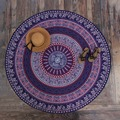 Vintage Round Tapestry Wall Hanging Beach Scarf Towel Mat