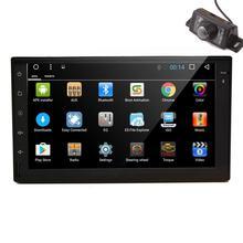 """7 """"2 din android 6.0 2din universal de Coches Nuevos de Radio Doble din coche Reproductor de Navegación GPS En El tablero PC Del Coche Estéreo de vídeo quad core"""