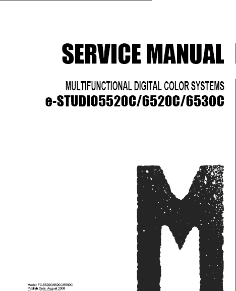 Toshiba e-studio 3520c 3530c 4520c service manual download manua.