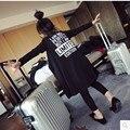 New Brand Baby Girls Summer Sunscreen Coat Fashion Girls Knitted Back Letter Print Kids Jacket Long Sleeve Outwear Cardigan