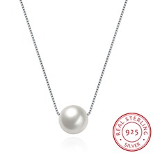 100% Real 925 Sterling Silver Pearl