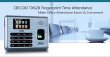 UA400 3200Users TCP IP Biometric Fingerprint Time Attendance Attendance Time Clock Employee Biometric USBRS232/485 TX628 sensor