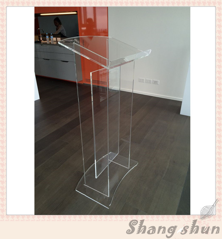 acrylic church lectern clear perspex rostrum podium lectern transparent acrylic school lectern acrylic platform perspex rostrum plexiglass dais cheap church podium