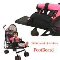 Universal acessórios do carrinho de bebê pockit footmuff extensão para goodbaby gb carriage seebaby guarda-chuva pram pé resto