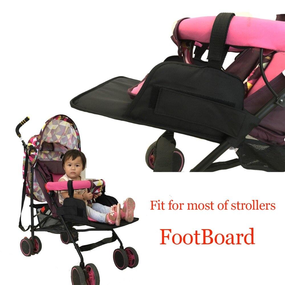 Universal bebê pockit acessórios do carrinho de criança footmuff extensão apto goodbaby gb carriage seebaby guarda-chuva pram pé resto