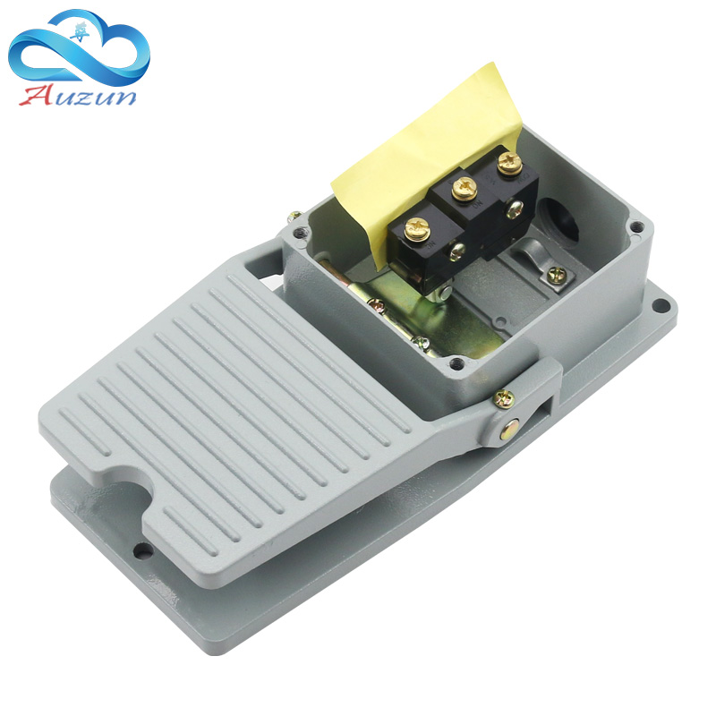 Image 2 - foot switch lt   4 pedal switch machine tool accessories AC 380 v 10a-in Switches from Lights & Lighting