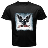 Gildan New ALTER BRIDGE Grunge Rock Band Blackbird Men S Black T Shirt Size S To