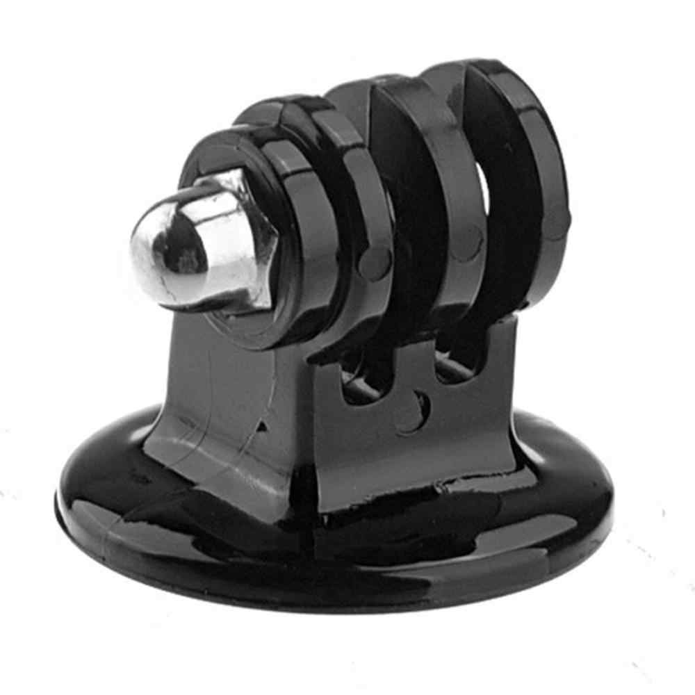 GoPro Tripod Mount Monopod Adapter Hitam untuk GOPRO HERO 4 3 + 3 2 1 SJCAM SJ4000 Xiaomi Yi Action kamera Berdiri Go Pro Go PRO Aksesoris