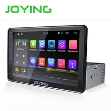 "Joying Latest 8 "" inch Single 1 din Universal Touch screen car radio dvd player Android 5.1 car audio stereo HD GPS Navigation"