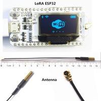 LoRa ESP32 0 96 Inch Blue OLED Display SX1278 Bluetooth WIFI Lora Kit 32 Module Internet