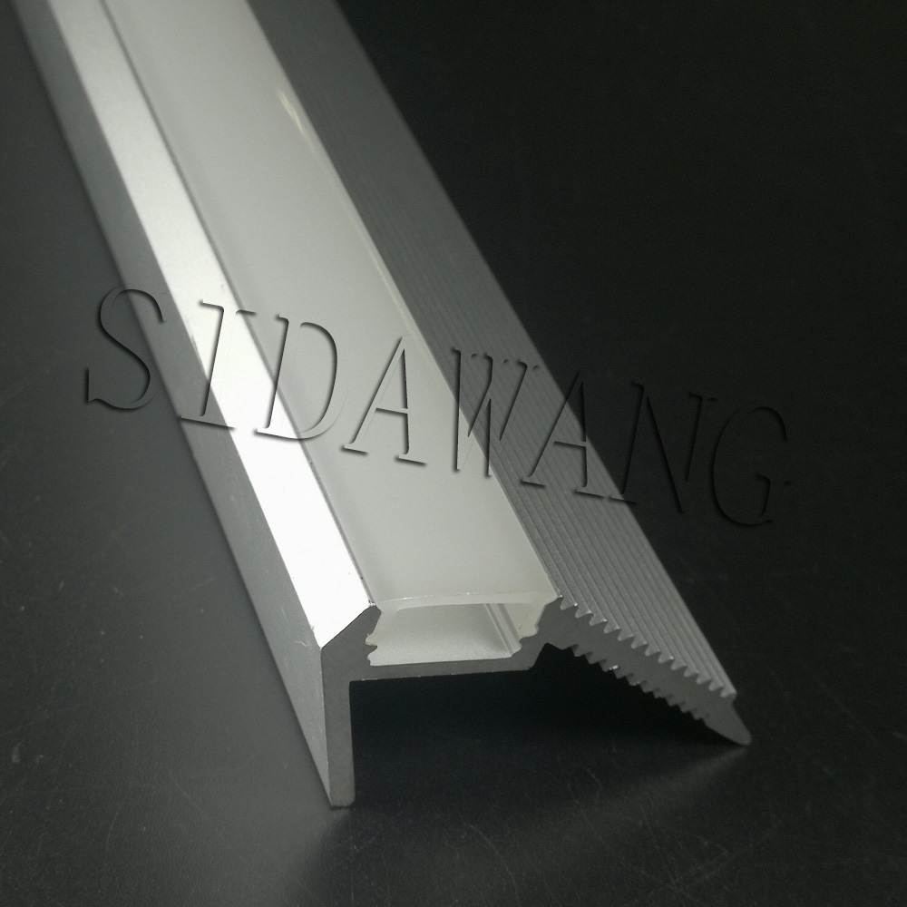 Lighting Basement Washroom Stairs: 10 X 1meter Step Noising Aluminium Led Strip Profile
