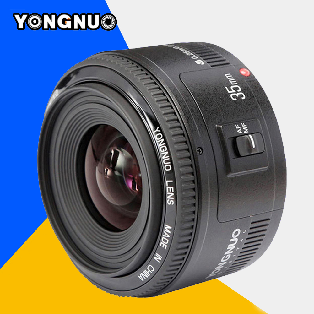 YONGNUO YN35mm YONGNUO 35mm F/2 Lens Wide-angle Large Aperture Fixed Auto Focus Lens For Nikon d7100 d3100 d5300 d7000 d90 d5200 yongnuo yn35mm f2 1 2 af mf wide angle aperture fixed prime auto focus lens for nikon d7100 d3200 d3300 d3100 d5100 d90 dslr