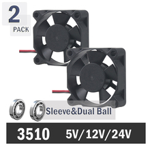 GDT 12v 2pin 35mm 35x35x10mm small ventilation fan
