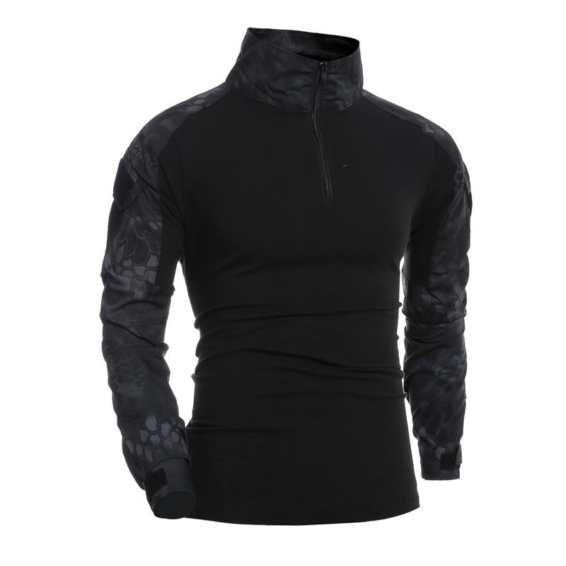 Combat Shirt Men Long…