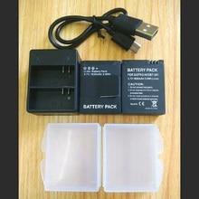 Carregador de bateria 3.7v AHDBT 301 gopro hero, câmera de ação acessórios