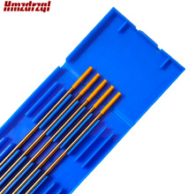 "5 Piece WL15 2.4X150mm 3/32""X6"" Lanthanated Tungsten Electrode Gold"
