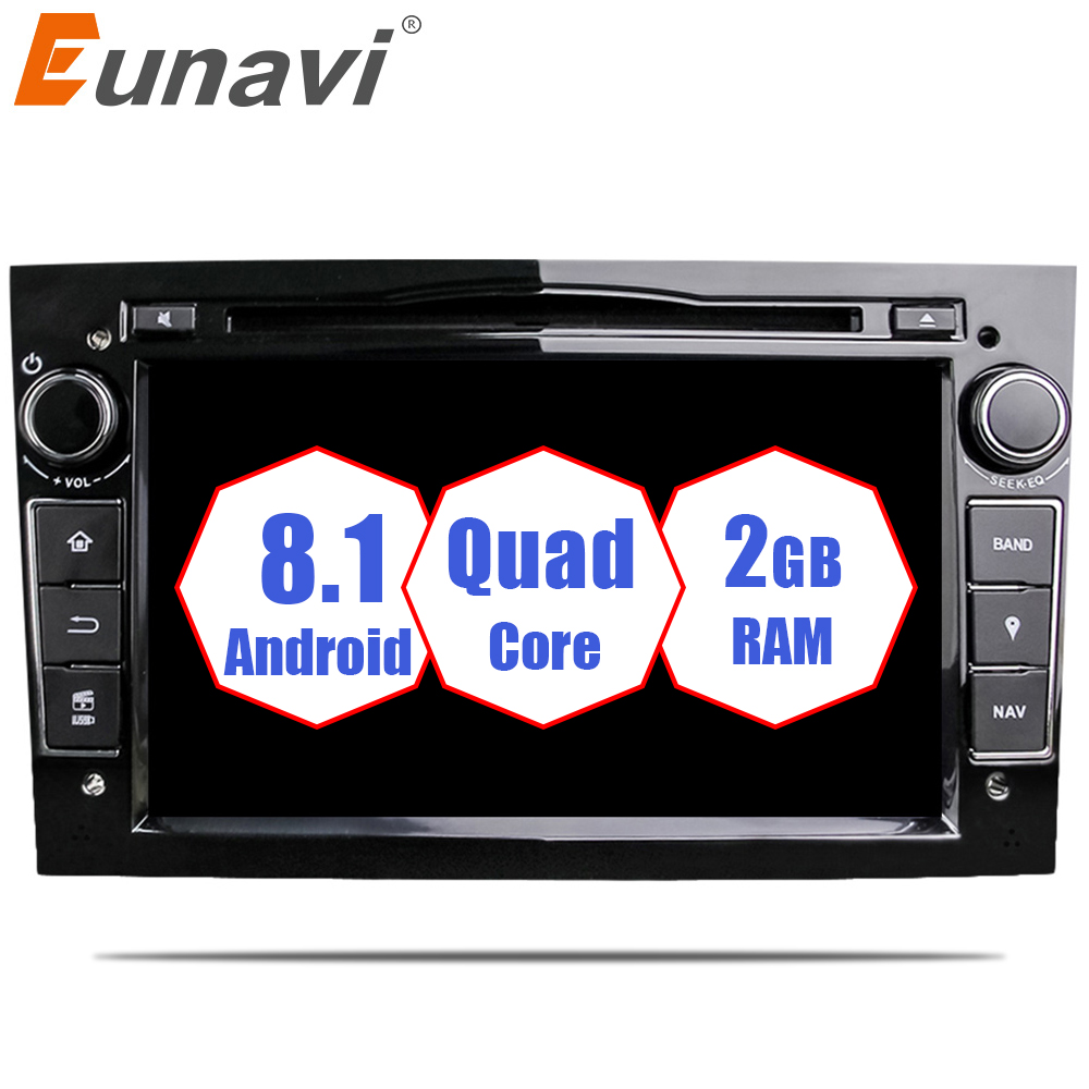 eunavi quad core android 8 1 2 din car dvd stereo for. Black Bedroom Furniture Sets. Home Design Ideas