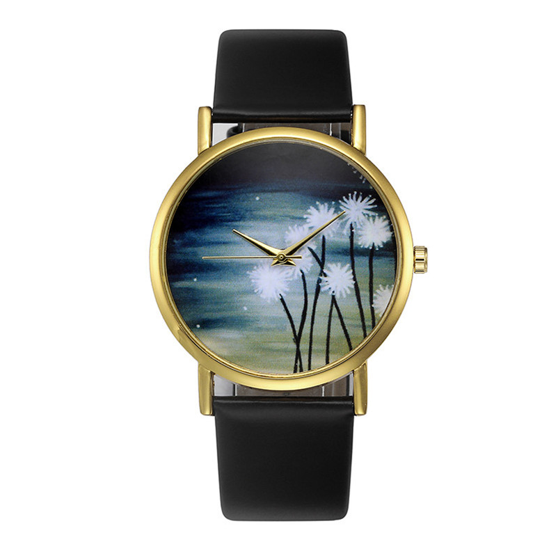 Classic Fashion Wrist Watch Womens Retro Design Leather Band Analog Alloy Quartz Wrist Watch 2018 Bracelet Watch Ladies woman s retro flower dial analog quartz wrist watch w pu leather band yellow brass 1 x 377