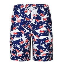 2019 New Men's Fashion Trend Large Size Printing Men's Breathable Loose Beach Shorts Men's Personality Wear Shorts
