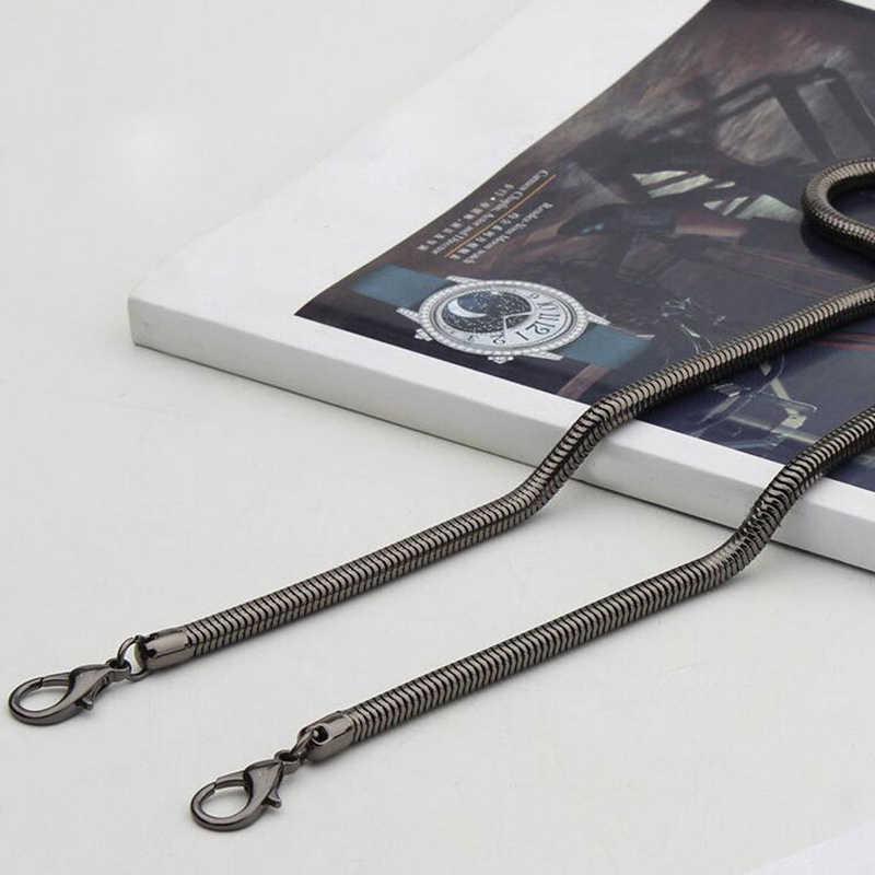 IMIDO גדול קידום 120 cm אביזרי עבור שקיות מתכת שרשרת רצועת כתף תיק קטן שליח תיק ידיות זהב כסף STP067