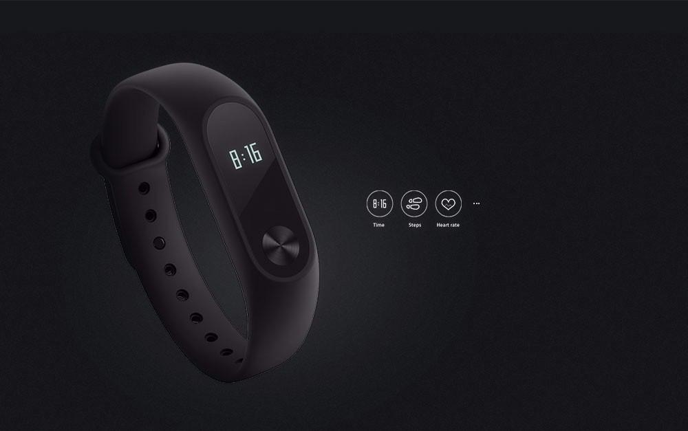 Original Xiaomi Mi Band 2 Smart Bracelet Wristband Fitness Tracker Android Bracelet Smartband with Heart rate Monitor 2