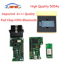 5pcs/lot DHL Free Newest Full Chip VAS5054A Best Quality OBD2 Diagnostic-Tool V4.0.0 vas 5054 Imported Chip Bluetooth +OKI chip