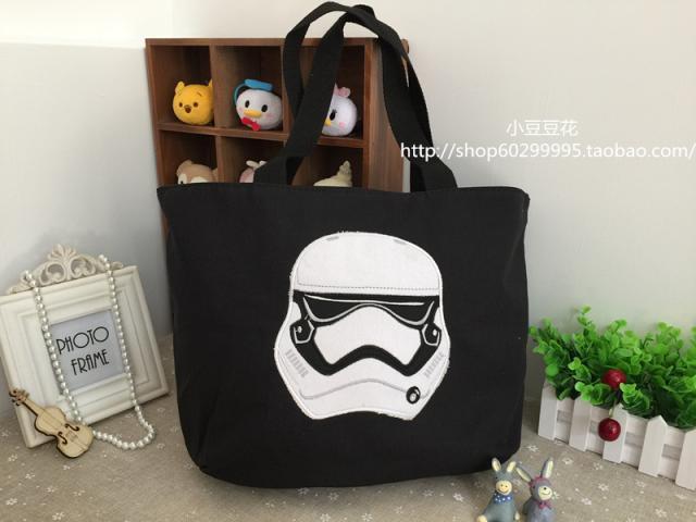 Star Wars 16 Storm Trooper Large Cargo School Backpack Bag